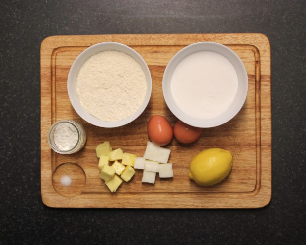 1. Ingredents Lemon meringue